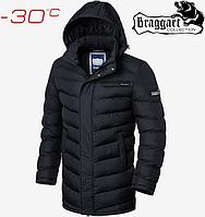 Длинная зимняя куртка мужская Braggart
