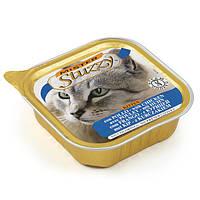 MISTER STUZZY Kitten МИСТЕР ШТУЗИ ДЛЯ КОТЯТ корм для котят, паштет с курицей, 100г