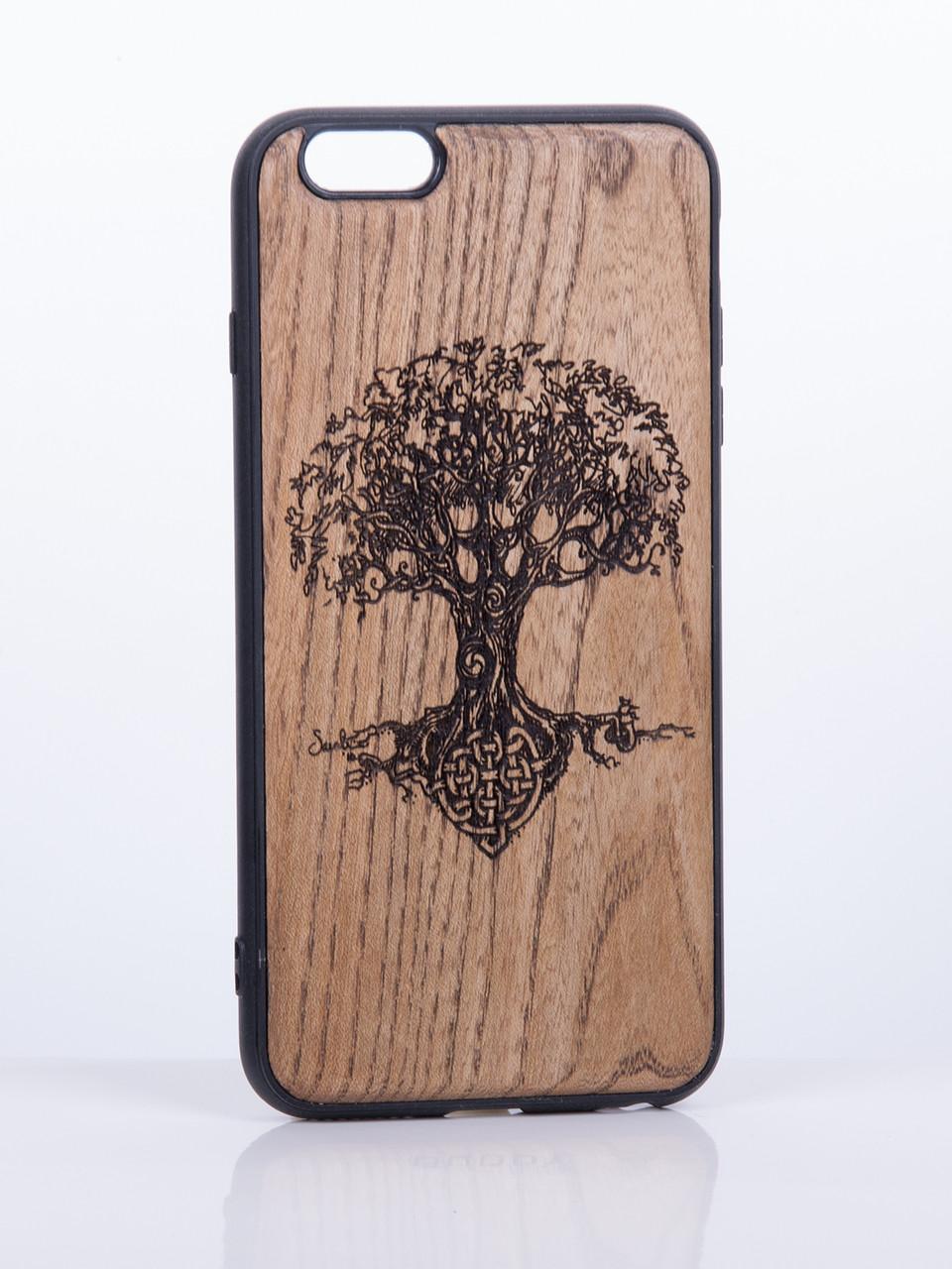 Деревянный Чехол для iPhone 6s, iPhone 6 с узором Дерево