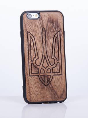 Деревянный Чехол для iPhone 6s, iPhone 6 с узором Украина