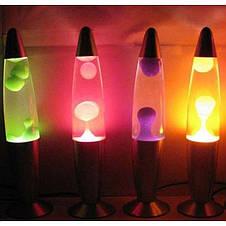 Лава лампа Wax Lamp бульки 38см, фото 3