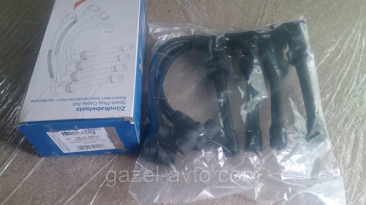 Провод зажигания высоковольтный ВАЗ 2110-12 (инж.) 16 клап. силикон (комплект) (пр-во HERZOG)