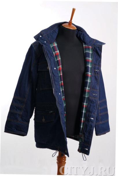 Куртка мужская утепленная Монтана 12030