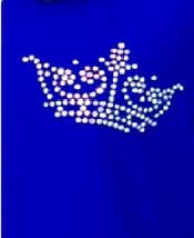 Платье-туника из трикотажа пике с коротким рукавом и карманами украшенная короной из страз 44-54 р Лакоста, фото 3