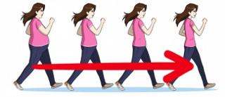 ходьба помогает снизить вес