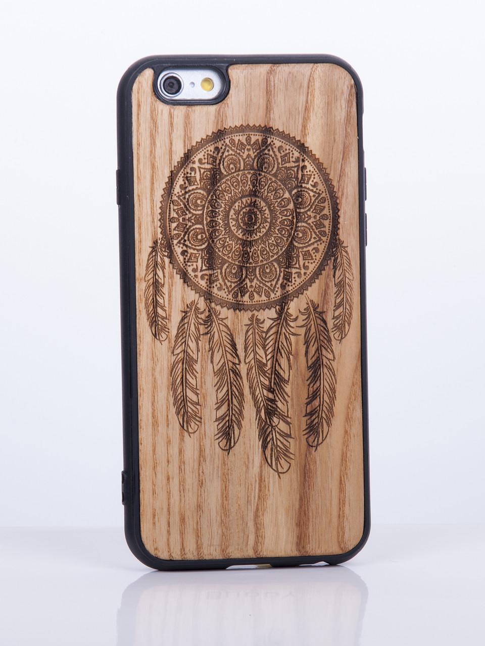Дерев'яний Чохол для iPhone 6s, iPhone 6 з візерунком Ловець Снів