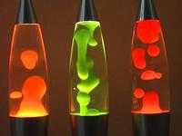 Лава лампа Wax Lamp бульки 38см