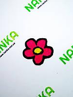 Тканевая нашивка аппликация Цветок № 197