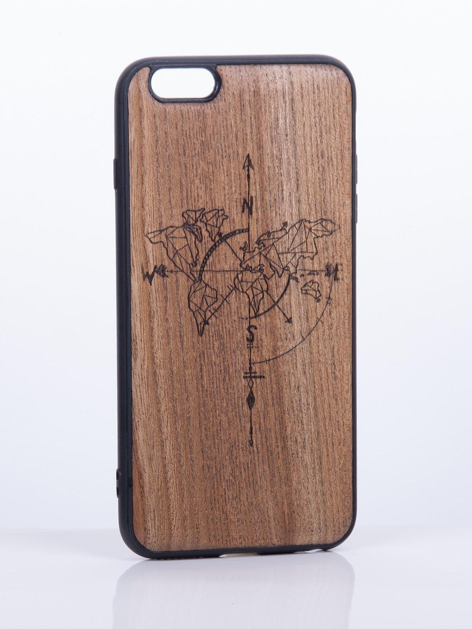 деревянный чехол на iphone киев