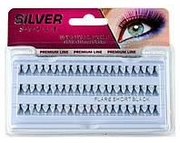 Пучковые ресницы MIX  Silver Style