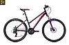 """Велосипед Spelli SX-2000 Lady 26"""" 2018 черно-фиолетовый"""