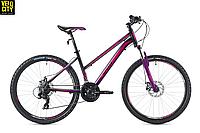 """Велосипед Spelli SX-2000 Lady 26"""" 2018 черно-фиолетовый, фото 1"""