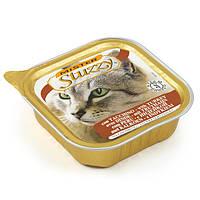 MISTER STUZZY Cat Turkey МИСТЕР ШТУЗИ ИНДЕЙКА корм для кошек, паштет, 100г