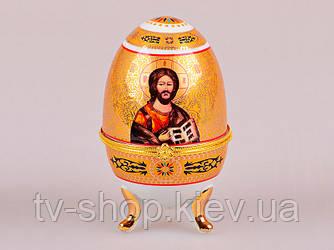 Шкатулка яйцо Иисус Христос