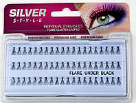 Пучковые ресницы Silver Style, 8 мм