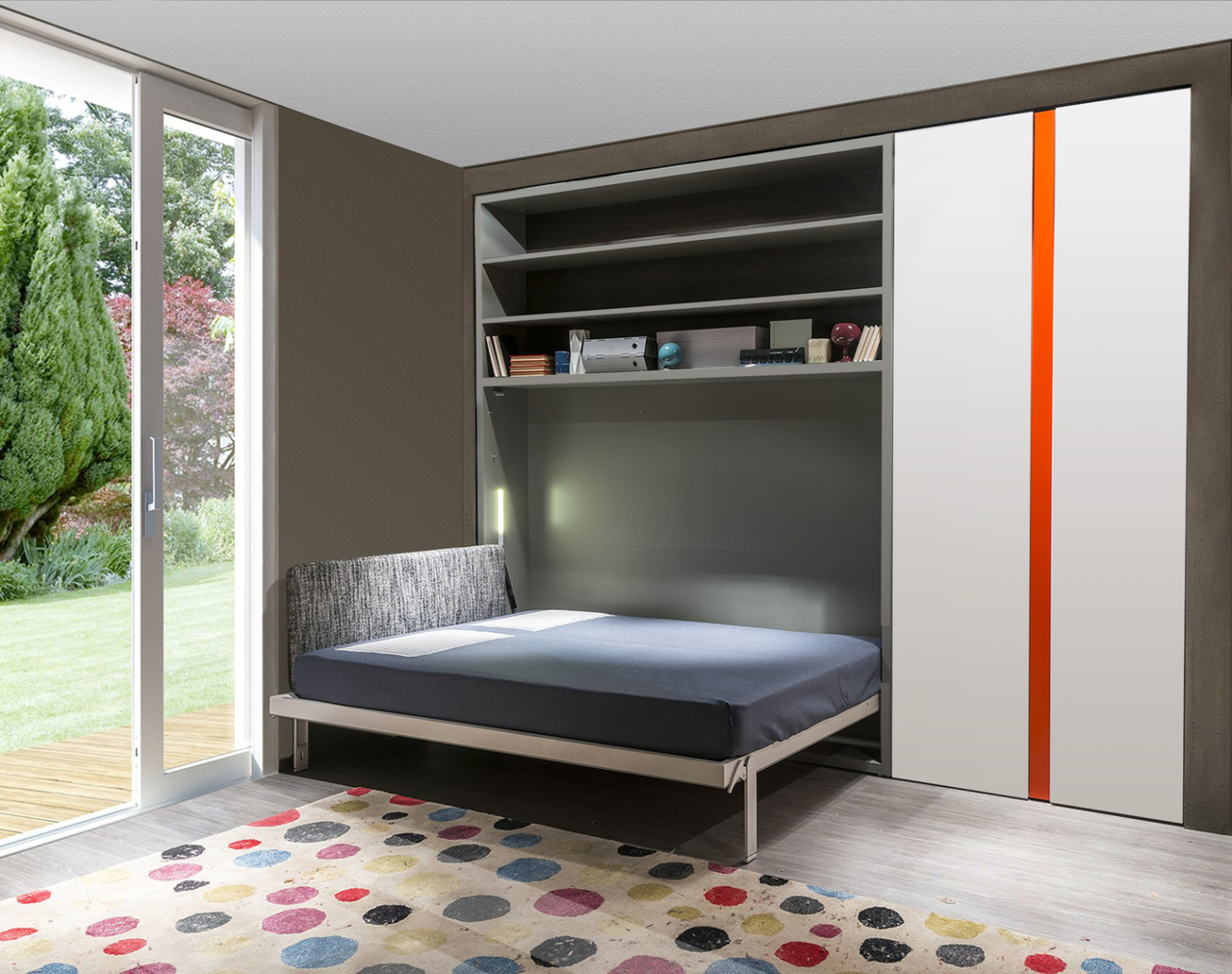 Шкаф-кровать трансформер Платон 106