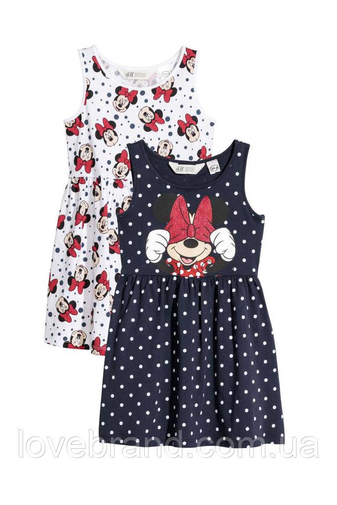 "Набор с 2-х платьев H&M ""minnie mouse"""