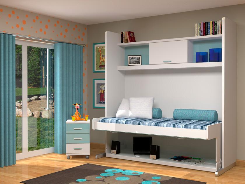Шкаф-кровать трансформер Платон 108