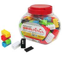 """Точилка для карандашей """"Лего"""" 8328, с контейнером (цена за 108 шт/банку)"""