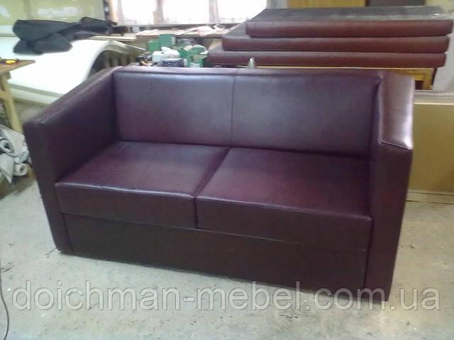 Диван и кресло из кожи, КОМПЛЕКТ для гостинной из кожи, купить в Украине на заказ