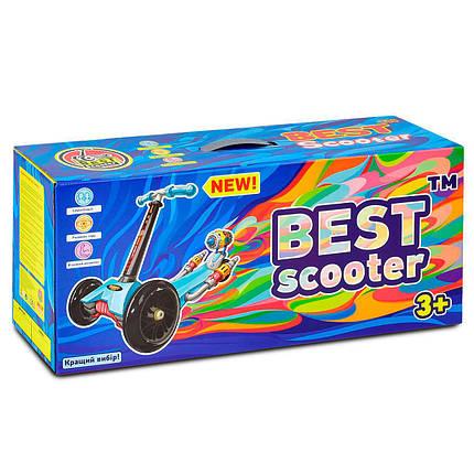 Детский трехколесный самокат-беговел 5 в 1 А 24674 - 3010 Best Scooter, фото 2