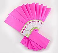 Бумага гофр. светло-розовая 55% (50см*200см)