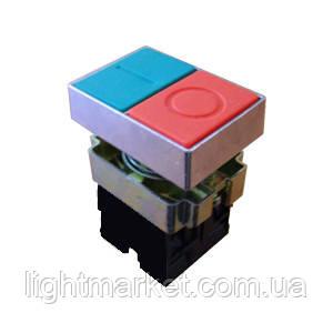 Кнопка пуск-стоп врезная без подсветки, фото 2