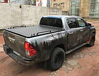 Алюминиевая крышка черная Hilux 2016+, фото 1