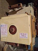 Выключатель автоматический ВА 55-41 1000А с электроприводом стационарный, фото 1