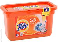 Капсулы для стирки Tide 3 in 1 color  альпийская свежесть 12 шт