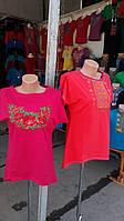 Женская трикотажная вышиванка