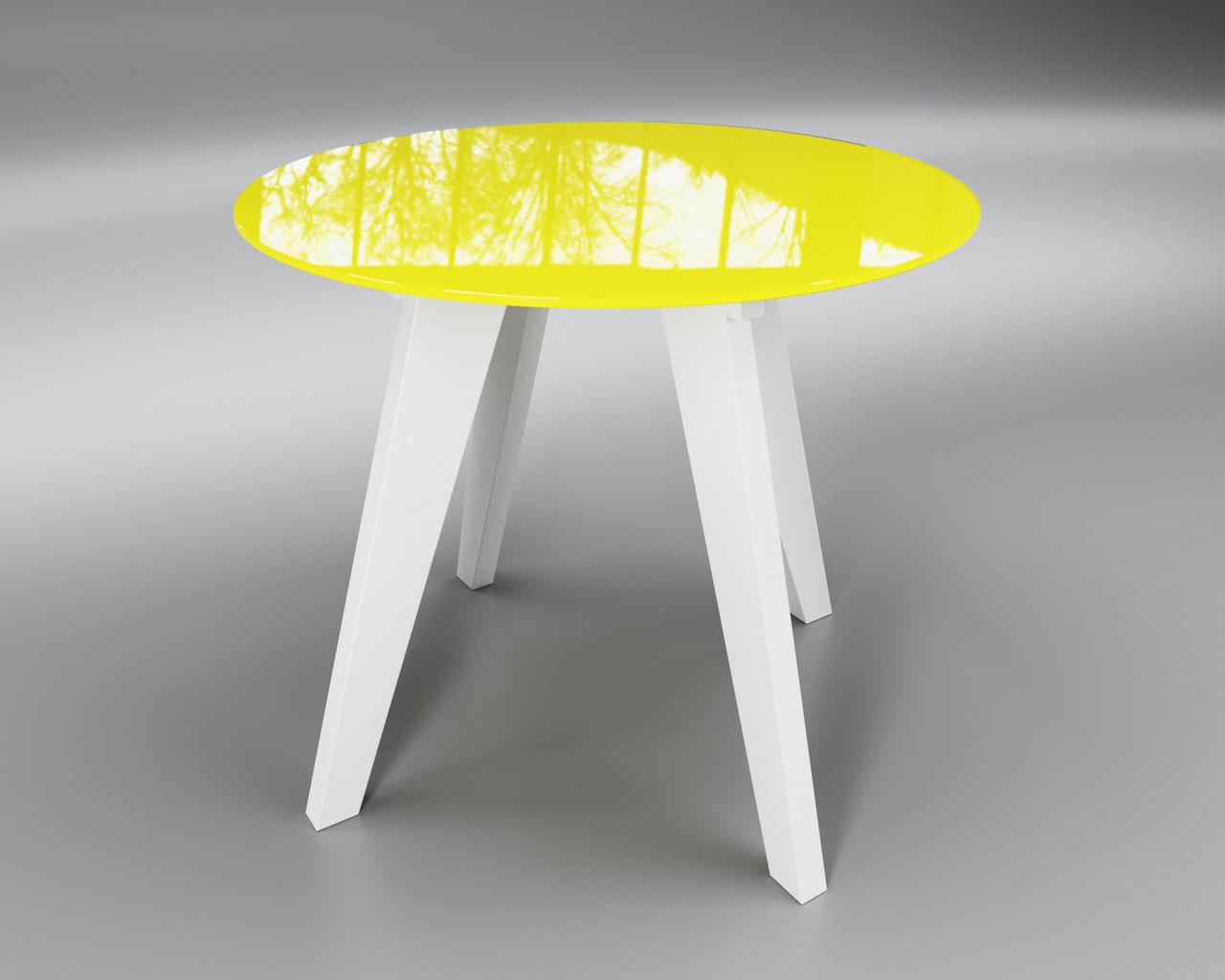 Леонардо Круг желто-белый