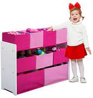 Органайзер - ящик для игрушек розовый Delta Children, фото 1