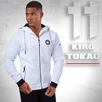 Kiro Tokao 156   Мужская толстовка спортивная белая