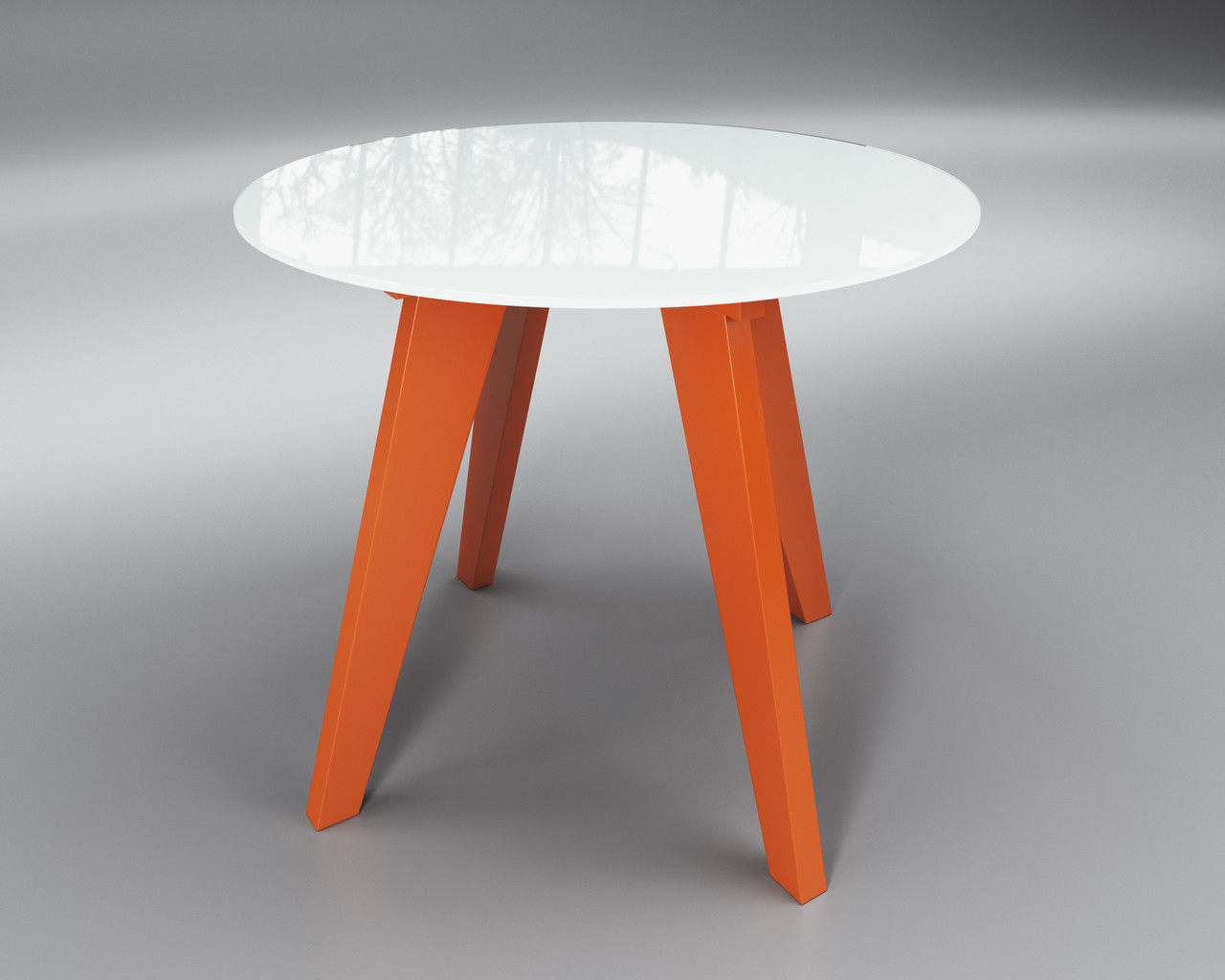 Леонардо Круг бело-оранжевый