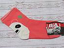 Носки без резинки (антиварикозные) с рисунком на пятке р. 38-40 (25) Украина оранжевые, фото 2