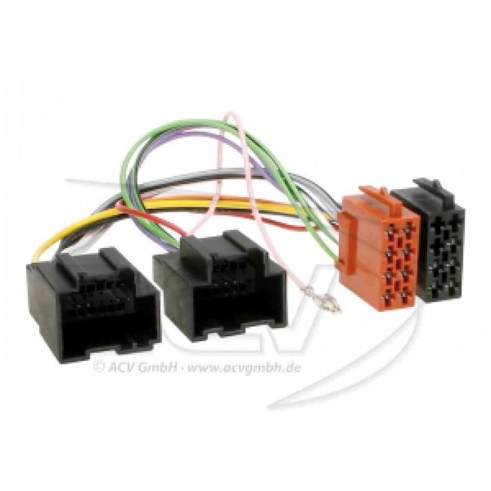 Переходник Авто-ISO 1087-02 Chevrolet-iso