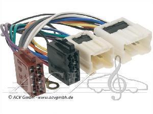 Переходник Авто-ISO 1214-02 Nissan 2004 (2разъёма)