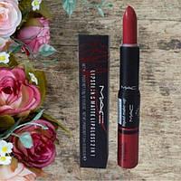 Блеск-помада для губ MAC  Matte Lipstick & Lipgloss 2 in 1