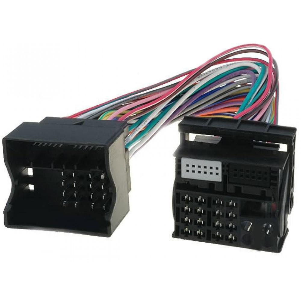 Переходник кабель 150-17 Quadlock 40 pin полный (мама-папа)