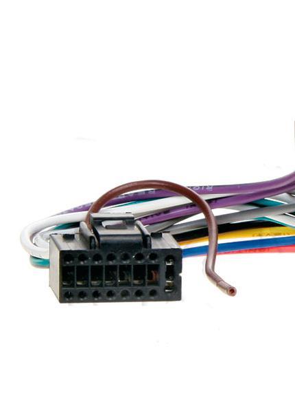 Переходник Магнитола-ISO 457001/1 KENWOOD  (без ISO)