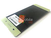 Модуль для Sony F3111 Xperia XA/ F3112/ F3113/ F3115/ F3116 (Дисплей + тачскрин), Lime Gold ориг PRC