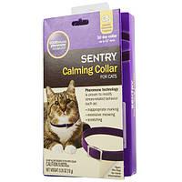 Sentry (Сентри) Goodbehavior Хорошее поведение успокаивающий ошейник с феромонами для кошек 38 см, фото 1
