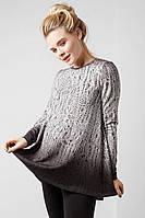 Туника для беременных, стилизация под вязаные вещи