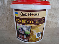 """Натуральный пчелиный воск для дерева """"Oak House"""" (бесцветный) 3 кг"""