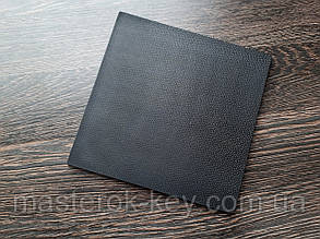 Полиуретан листовой ТПУ Украина 160*160*7 мм цвет черный