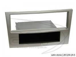 Рамка перехідна 281230-24-5 Opel Astra H/Corsa D/Zafira B (satin-stone)