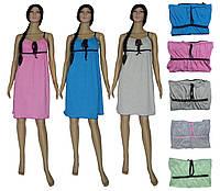 Ночная рубашка женская трикотажная 03278-2 Viola из хлопка, р.р.42-56