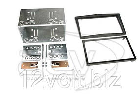 Рамка перехідна 381230-12 (kit) Opel Corsa (06>), Zafira SW (05->) black