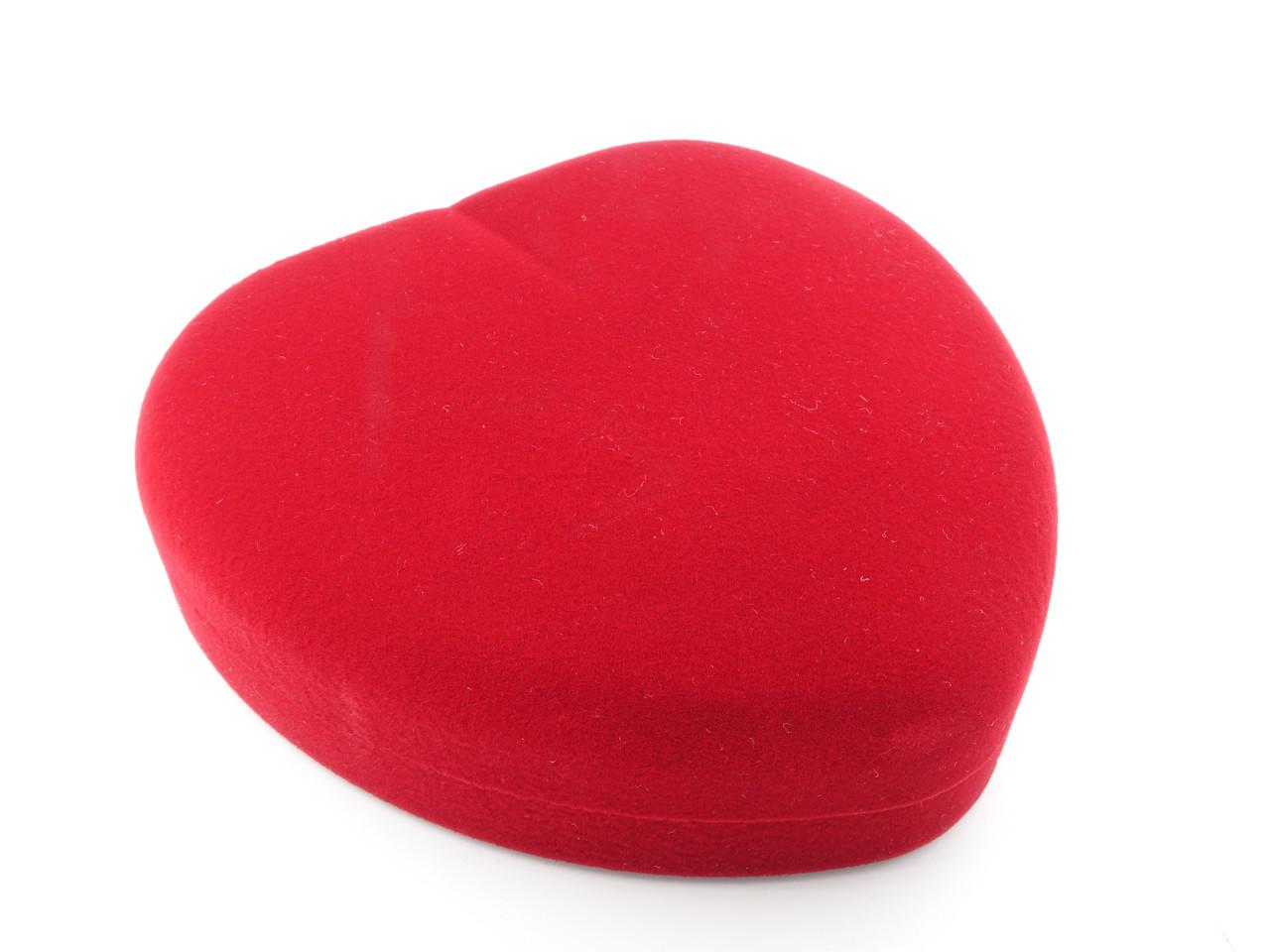 """Футляр под комплект """"Сердце маленькое"""" красное"""